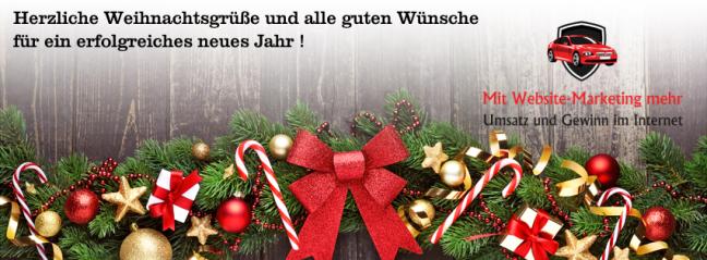 Weihnachtsgrüße für Facebook